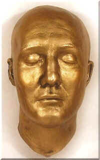 George Reeves death mask