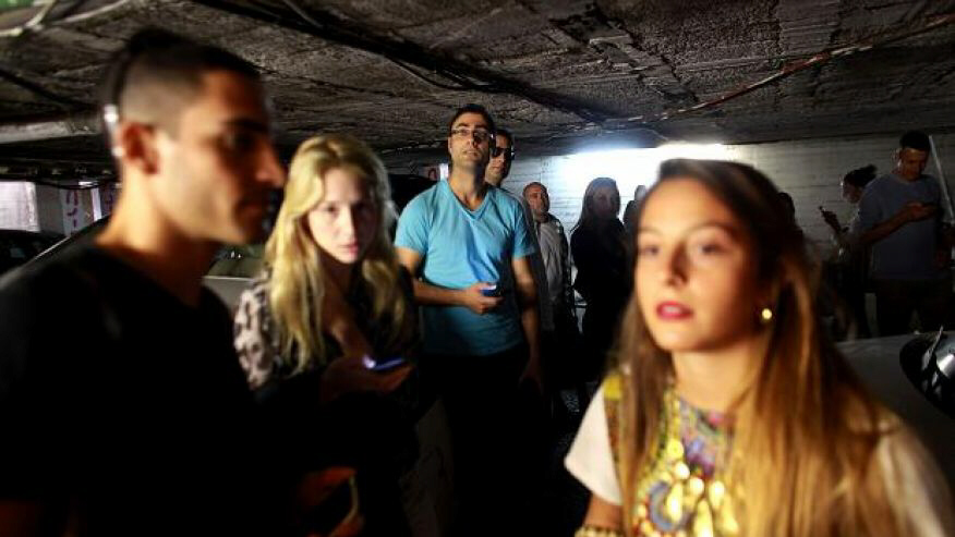 Half of Israel's population now in bomb shelters