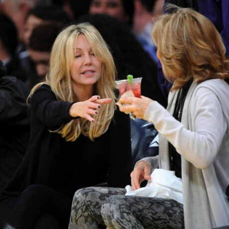 Heather Locklear wasted
