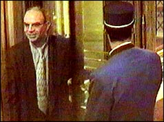 Henri Paul on surveillance camera departing the Ritz