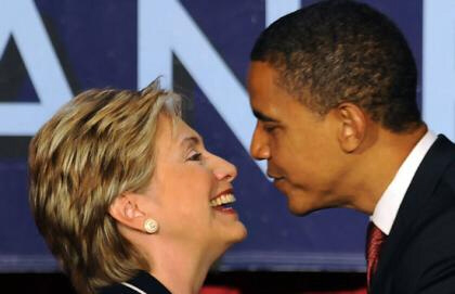 President-elect Barack Obama asks Hillary Clinton, 'Will you be my Madam Secretary?'