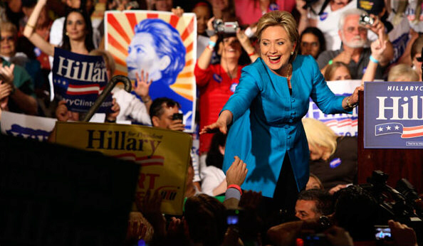 Hillary Clinton wins 2016 election