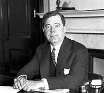 Louisiana Governor Huey P. Long  (1893-1935)