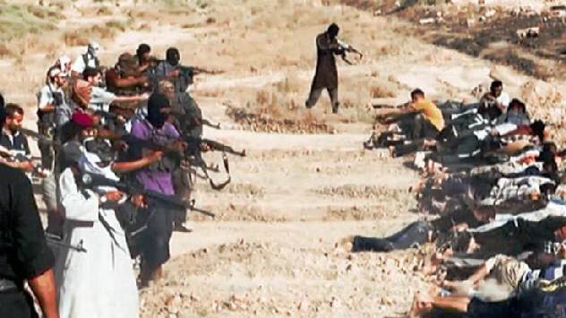ISIS carries out mass executions in every town they conquer