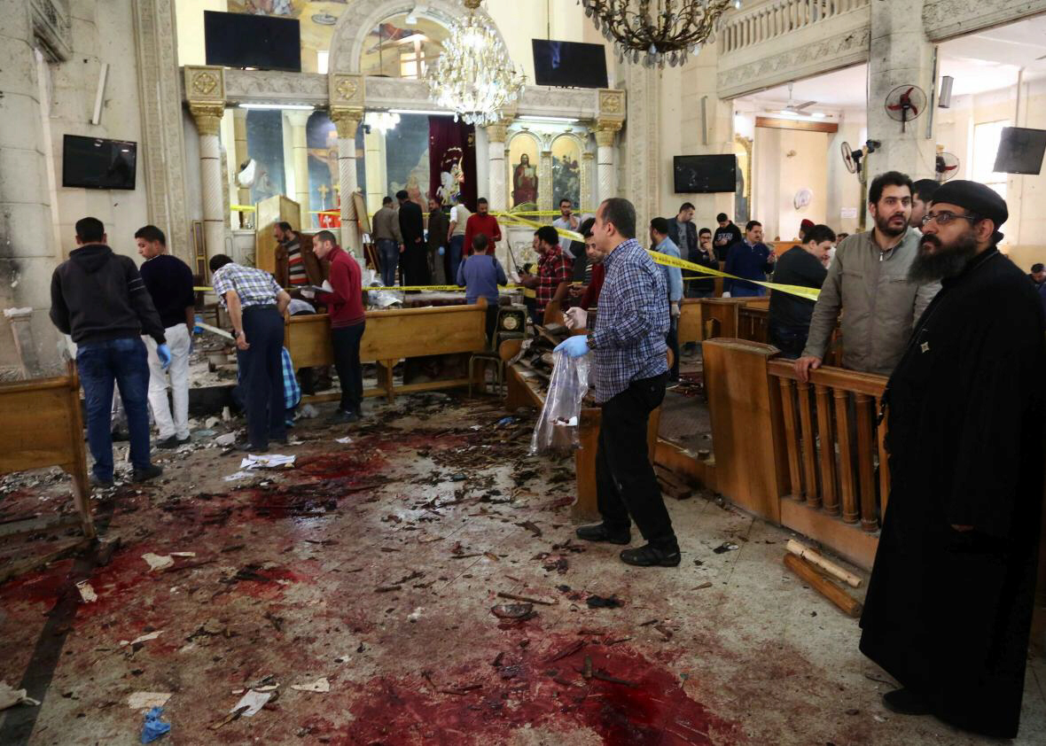 ISIS claims responsibility for Egypt church bombings that kill dozens