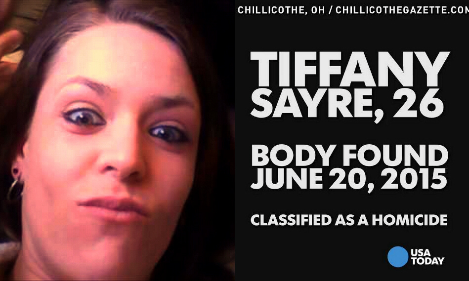Tiffany Sayre, 26, found murdered on June 20, 2015