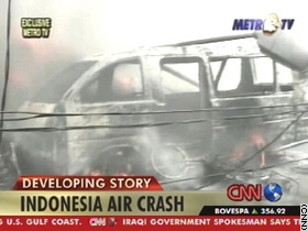 Indonesia crash -    breaking News