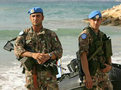 Italian UNIFIL peacekeepers