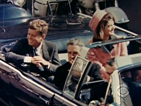 Last photo, or one of the last in a series of photos, taken of President John F. Kennedy in the doomed motorcade just prior to the Zapruder assassination video