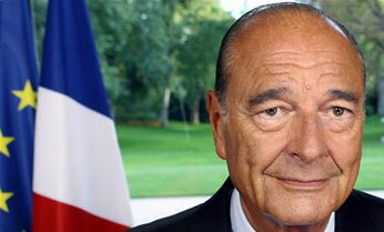 French President Jacques Chirac announces he will commit 2,000 French troops to Lebanon