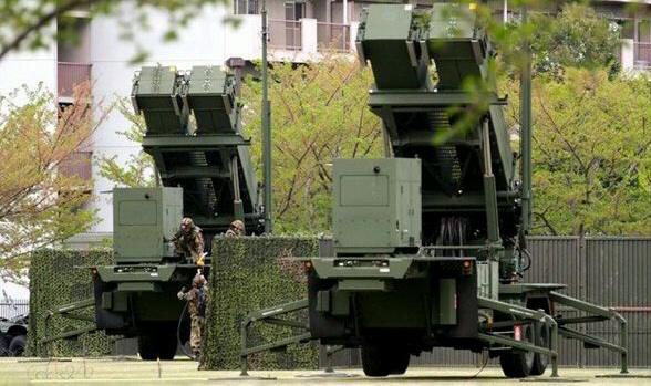 Japan's Ground Self-Defense Force prepare missile interceptor