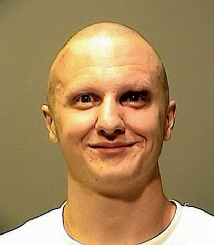 Mug shot of assassin Jared Lee Loughner