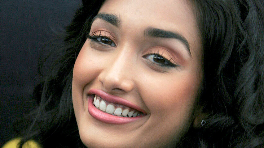 Actress Jiah Khan: closeup of face