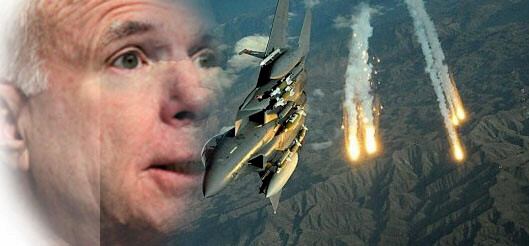 John McCain calls for airstrikes on Syria