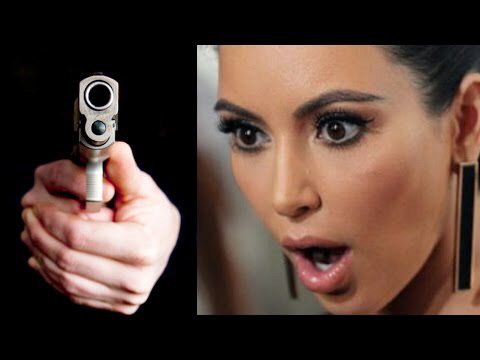 KIM KARDASHIAN ROBBED AT GUNPOINT