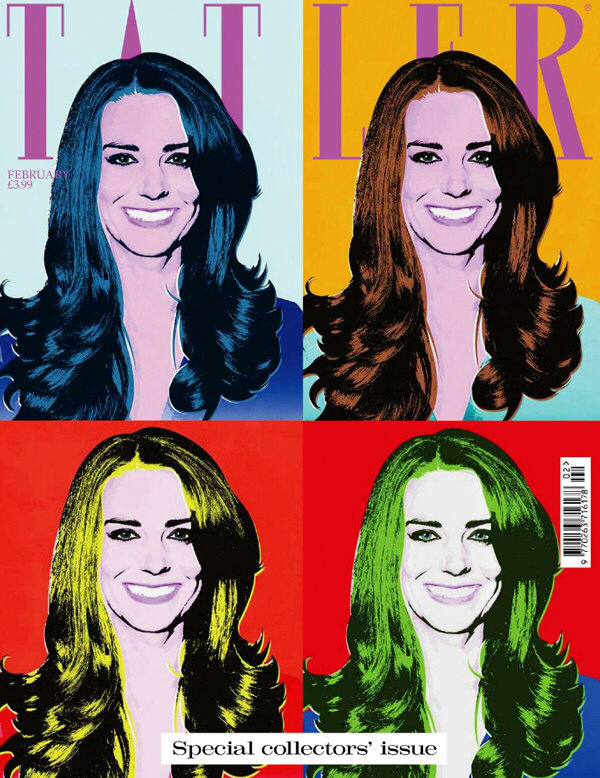 Kate Middleton on Tatler cover