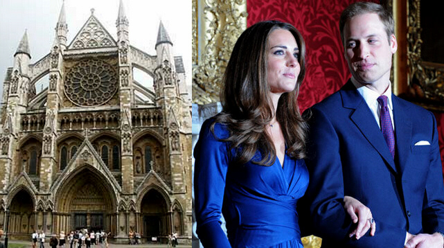Kate Middleton and Prince William to marry 29 Apr 2011
