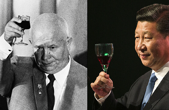 Khrushchev and Xi