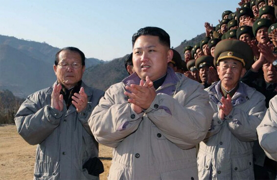 Kim Jong-eun, the late North Korean dictator's designated successor