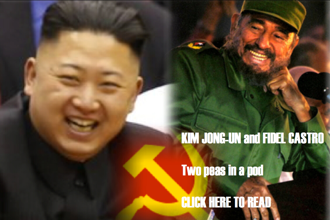 "Kim Jong-un and Fidel Castro: ""two peas in a pod"""