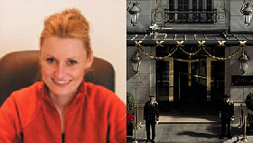 Tycoon Kinga Legg ... The Bristol Hotel in Paris, where she stayed with British lover