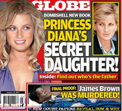 Lady Diana's Secret Daughter - Globe Magazine