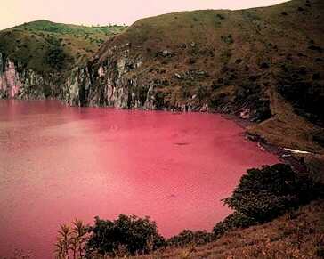 Lake Nyos bloody