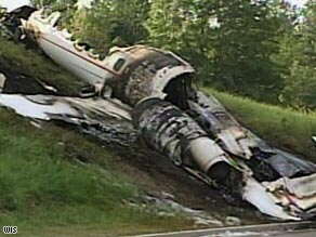 Learjet crashed as it was taking off Friday night