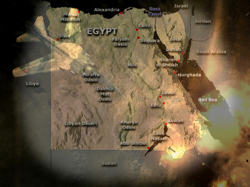 Libya attacks Egypt