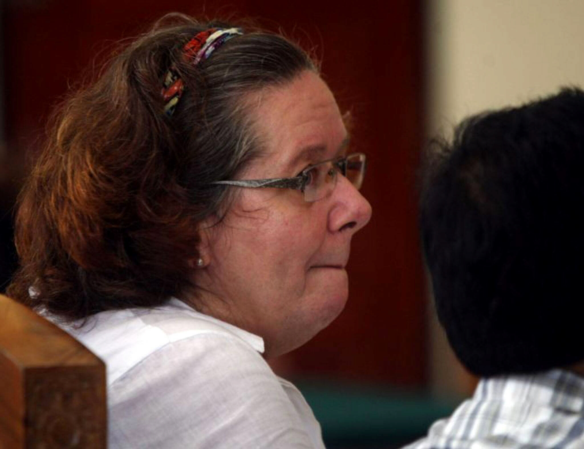 Lindsay Sandiford, 56, was sentenced to death