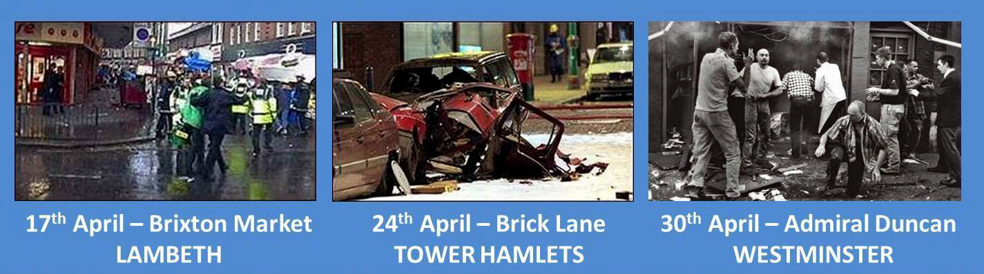 London bombings April 1999