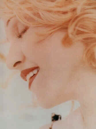Madonna, looking lovely and dreamlike