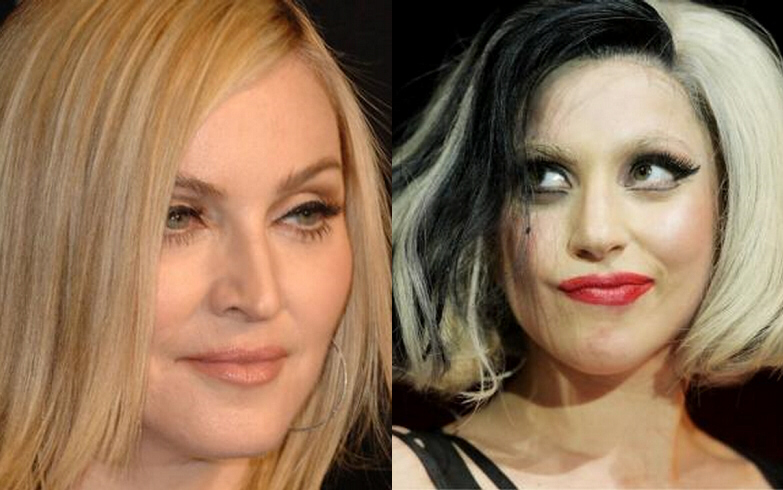 Madonna and Gaga are blood relation