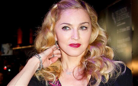 Madonna arrives for the BFI London Film Festival gala screening of 'W.E.'