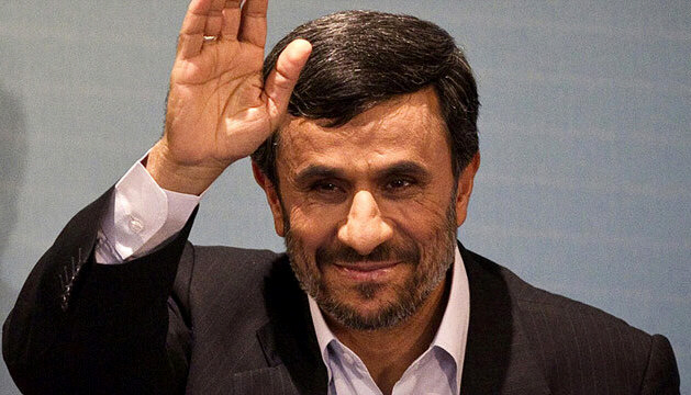 "Mahmoud Ahmadinejad says the West is ""seeking destruction and a reinforcement of their evil dominance in the region."""