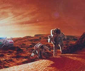 Manned exploration of Mars