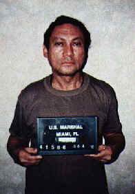 Manuel Noriega captured