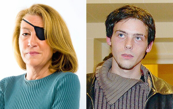 U.S.-born journalist Marie Colvin and French photojournalist Remi Ochlik were killed in the Syrian government's shelling of Homs. (Stephane De Sakutin, AFP/Getty Images / Sunday Times / February 22, 2012)