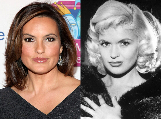 Mariska Hargitay and her late mother Jayne Mansfield