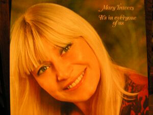 Mary Travers was the sex interest of Peter, Paul and Mary