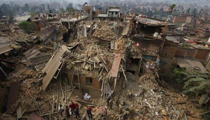 Massive earthquake strikes India in 2022
