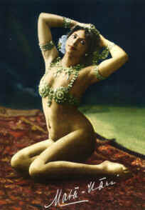 Mata Hari, exotic dancer