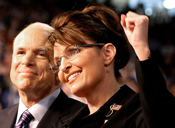 John McCain and Sarah Palin are a winning combination