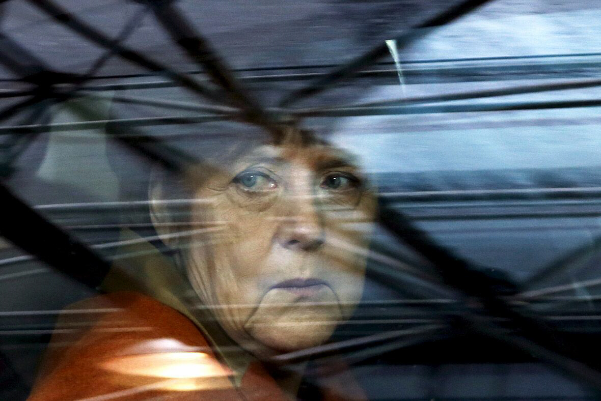 Merkel ousted, leaves Germany