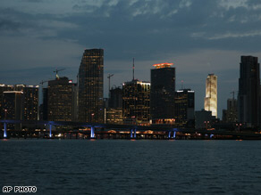 Miami hours after power outages