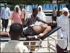 Mogadishu's main market was also bombed