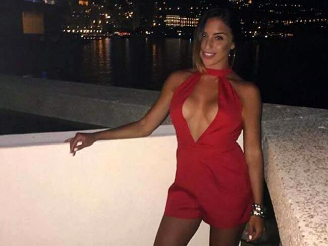 Ms Vetrano's explicit blog discussed sex and even her own murder