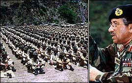 General Musharraf and Pakistan army face annihilation