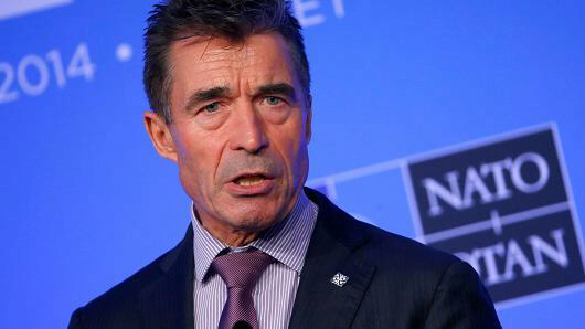 NATO Secretary General Anders Fogh Rasmussen speaks