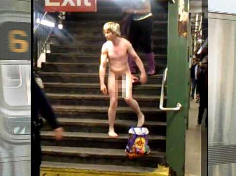 Naked man attacks Londoners